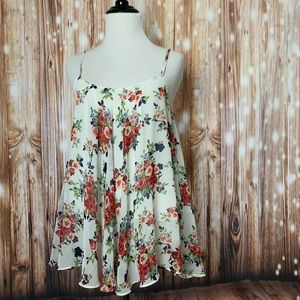 women's floral loose top
